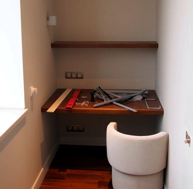 Мебель и стеновые панели для проекта дизайн-студии detalno..